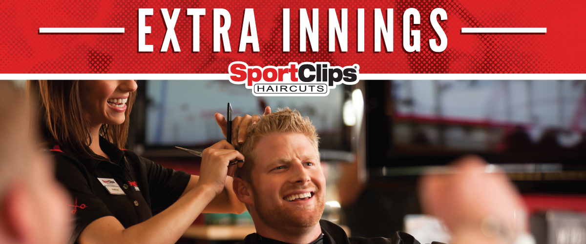 The Sport Clips Haircuts of Hillsboro Extra Innings Offerings